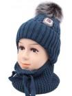 Детская вязаная шапка SM07K-405 Сталкер 48-50