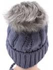 Детская вязаная шапка №5215-46-48