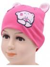 Детская трикотажная шапка Мегги