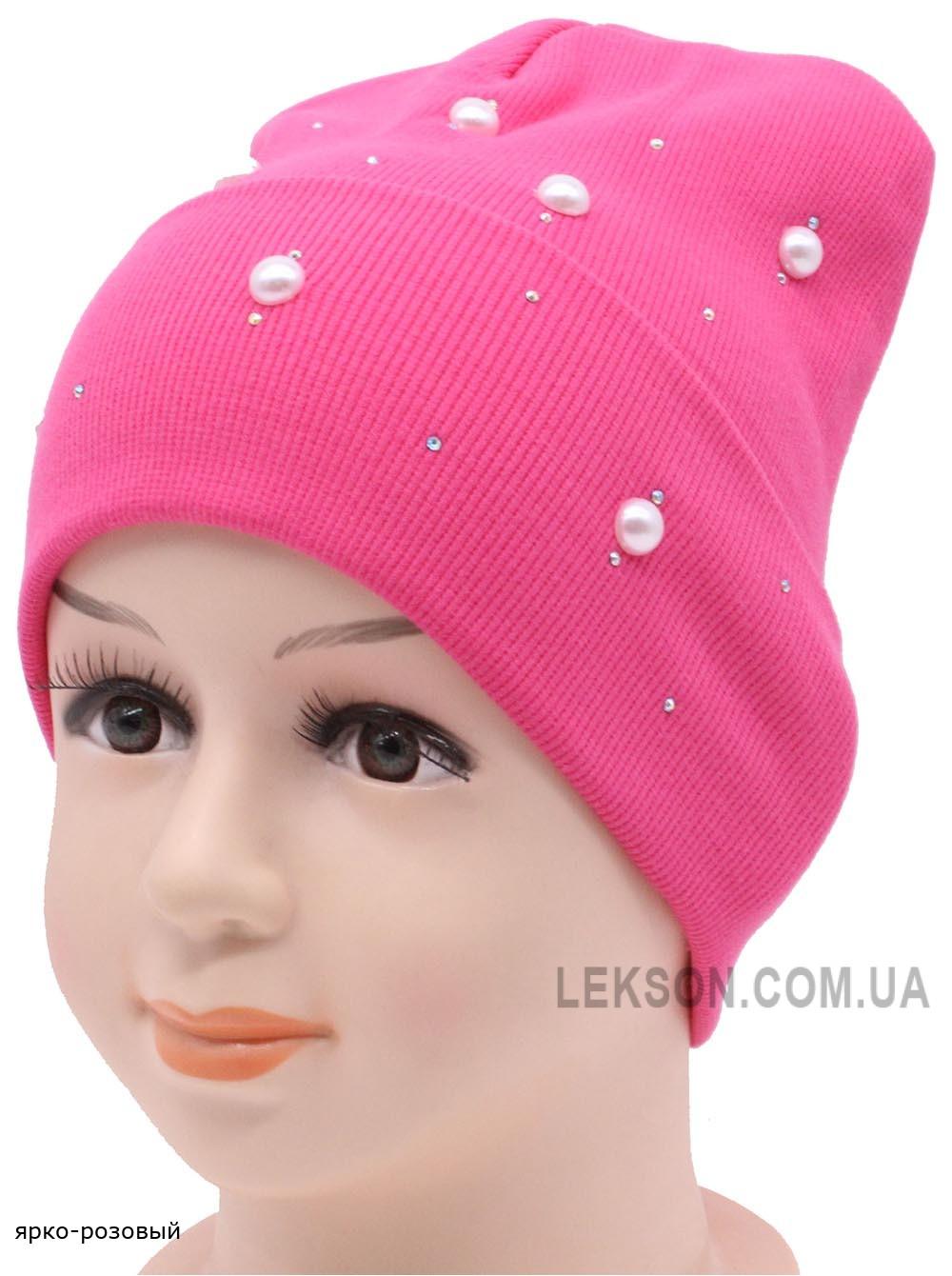 Детская трикотажная шапка Мила №1