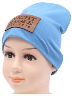 Детская трикотажная шапка Браин