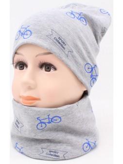 Детский трикотажный комплект Велосипед