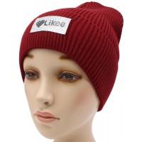 Детская вязаная шапка №57125-54-56 Лайк №5