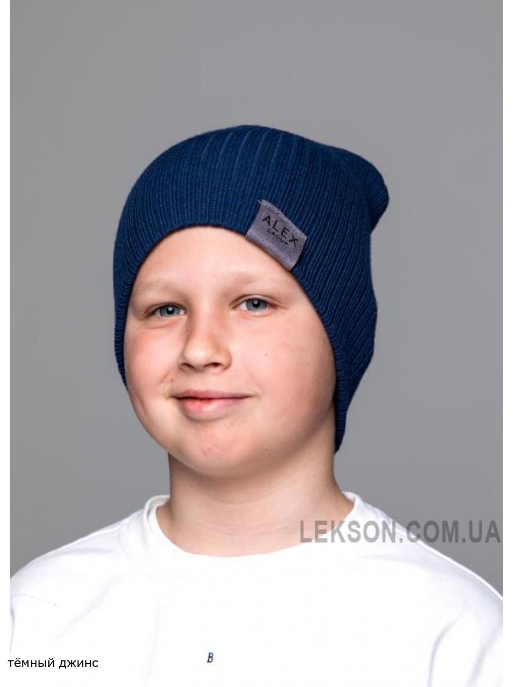 Детская вязаная шапка Джон D79531-50-54