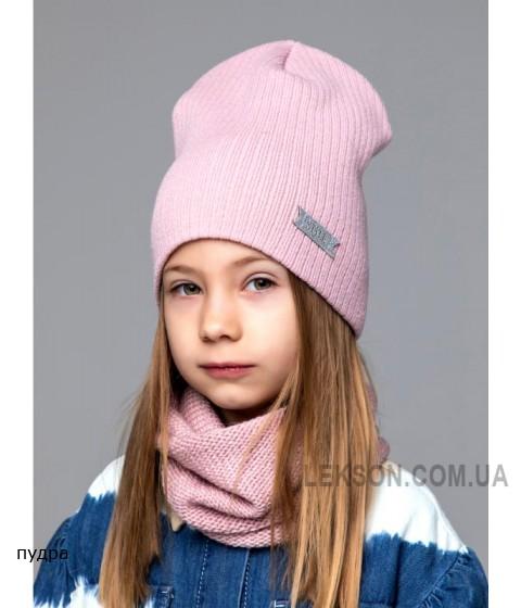 Детская вязаная шапка Стиль D74430-50-54