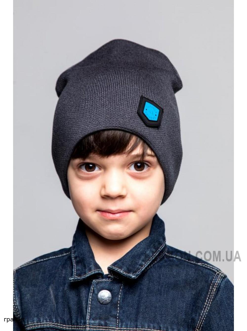 Детская вязаная шапка Минимал D79231-48-52