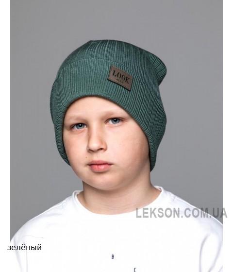 Детская вязаная шапка Модерн Boy D78531-50-54