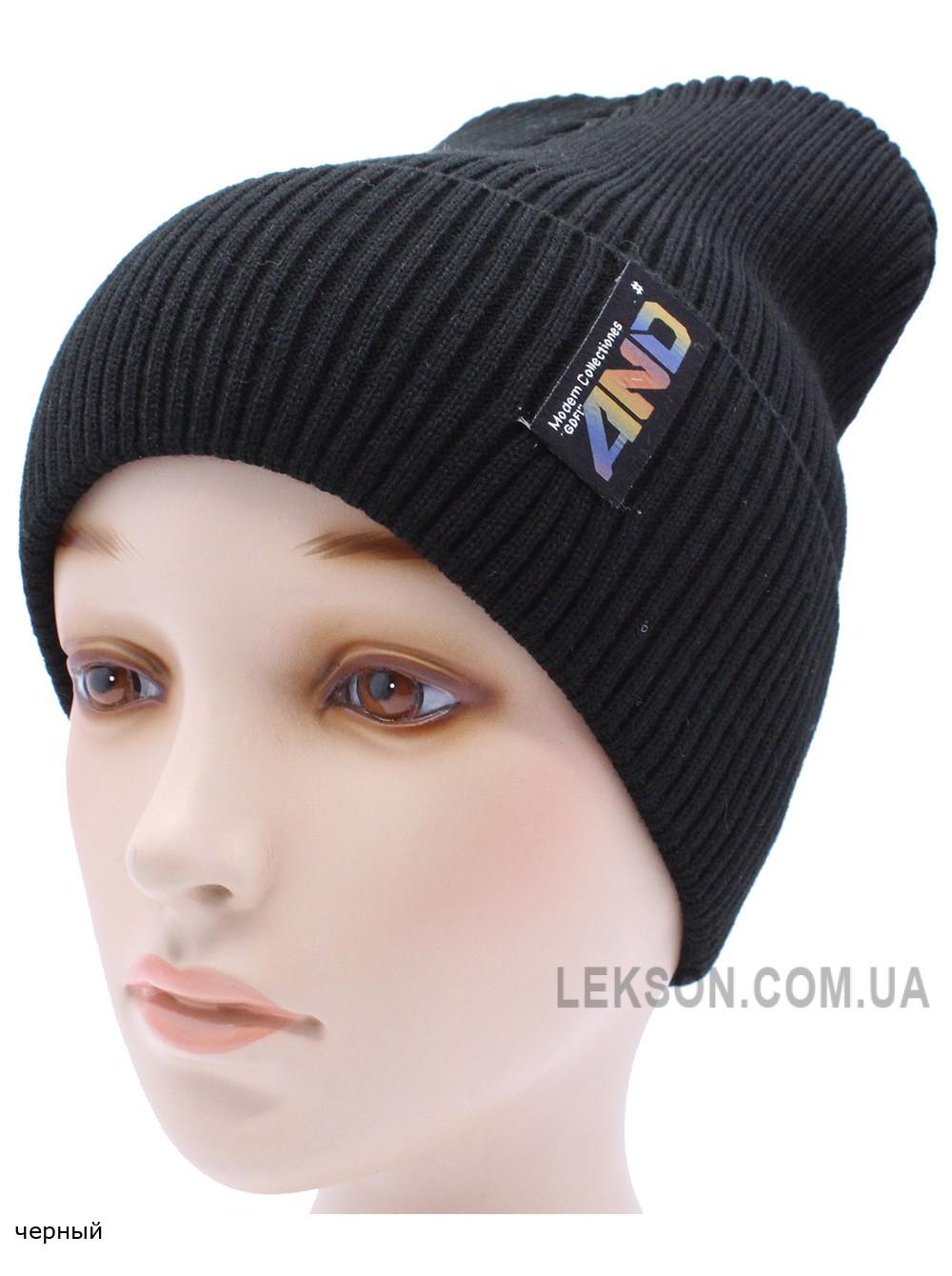 Детская вязаная шапка №013185-54-56