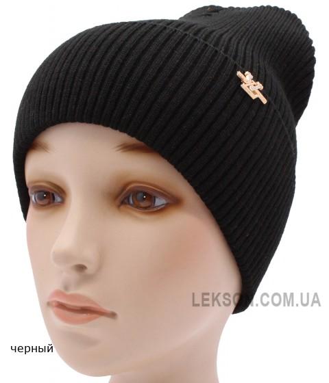 Детская вязаная шапка №052185-54-56