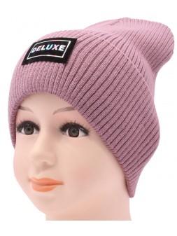 Детская вязаная шапка №061210-52-54