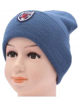 Детская вязаная шапка №062210-52-54