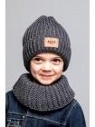 Детская вязаная шапка Комплект Спорт D78450-48-52