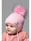 Детская вязаная шапка Минни D76532-38-42