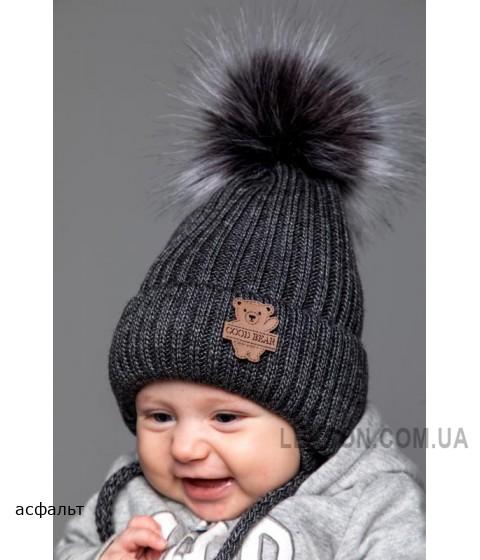 Детская вязаная шапка Умка D73832-42-46